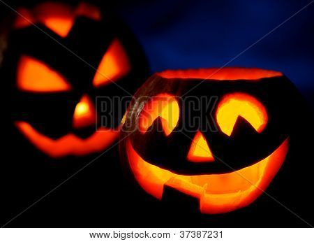 Scary Halloween Pumpkins Jack-o-lantern