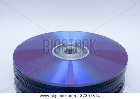 Pila de unidades de CD Dvd