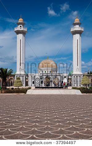 Mausoleum Of The Ex President Habib Burguiba In Monastir In Tunisia