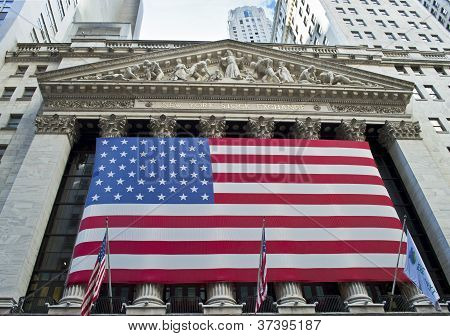 Ny Stock Exchange View