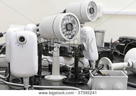 Ligação de câmeras de CFTV