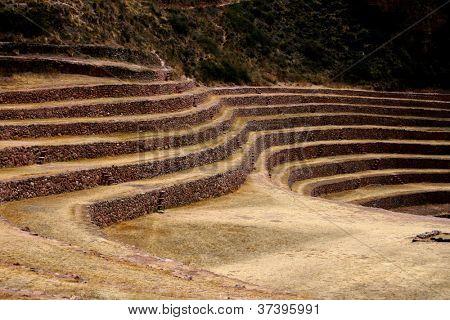 Sitio agronómico de Inca de Moray, Perú