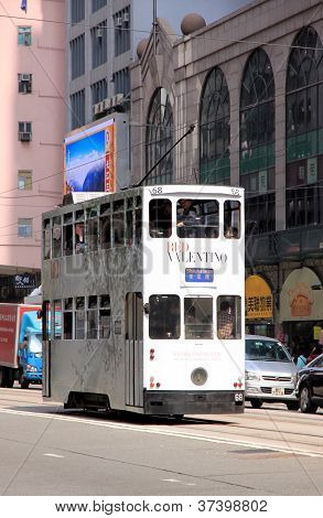 Hong Kong Double-Decker Streetcar