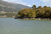 stock photo of giannena  - View of Ioannina city in Greece - JPG