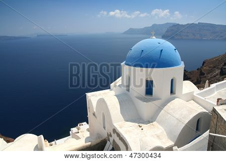 Kirche auf Santorini