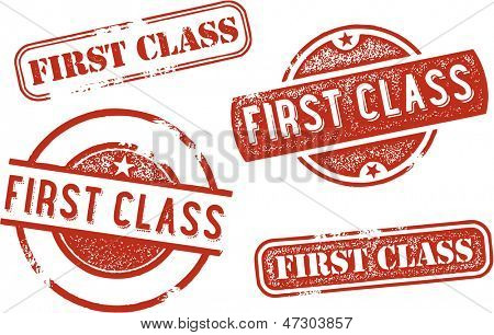 First Class Rubber Stamps