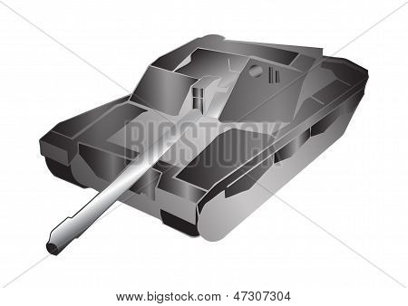 tank illustration 3D