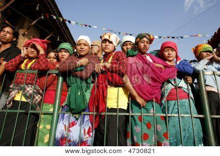 Young Nepali Women