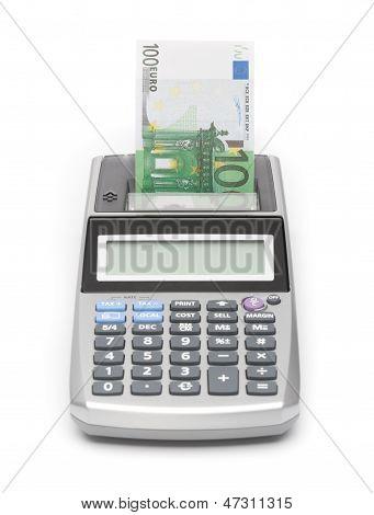 Money Concept - Print Money