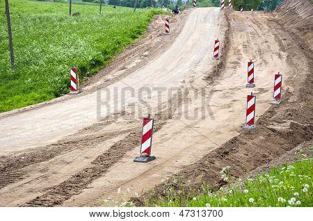 Rural Gravel Road Construction And Repairs