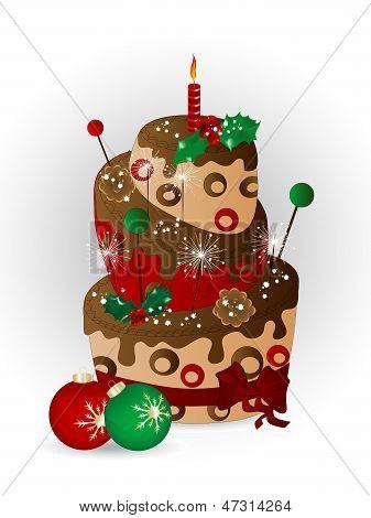Christmas Cake Cake