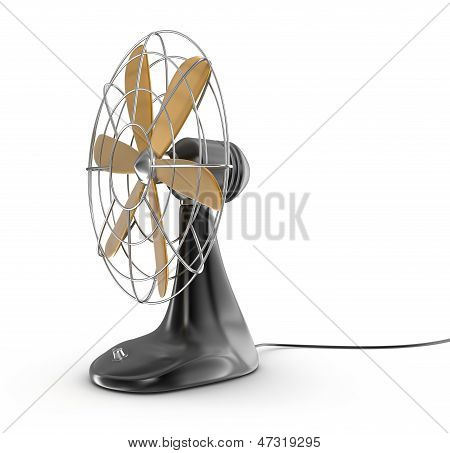 Old style electric fan