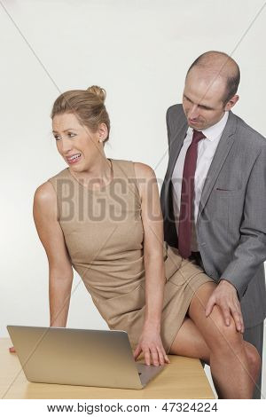 Distasteful Harassment By A Male Boss