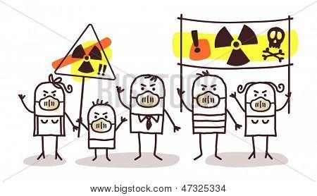 gente contra la energía nuclear
