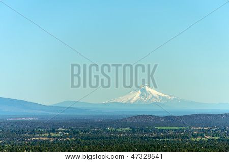 Mount Hood And Forest