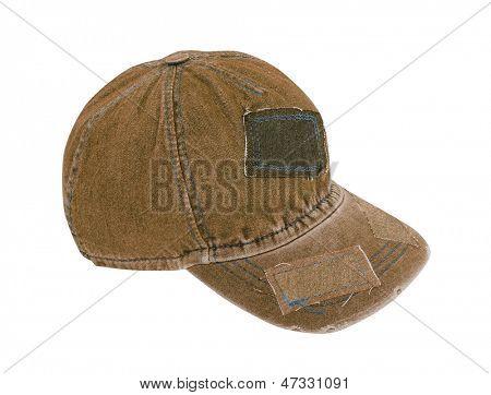 jeans peaked cap