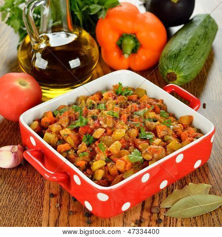 Vegetarian Vegetable Stew