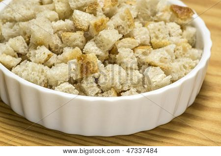 Dried breadcrumbs