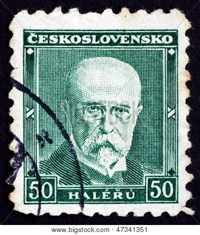 Postage Stamp Czechoslovakia 1930 Tomas Garrigue Masaryk