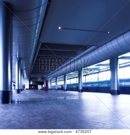 Blue Train Platform