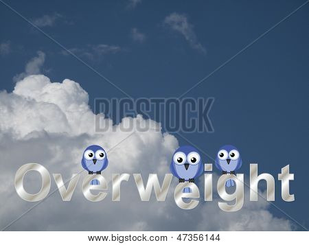 Overweight text