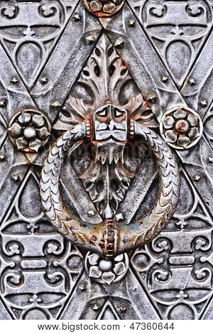Door Knocker of Castle de Haar