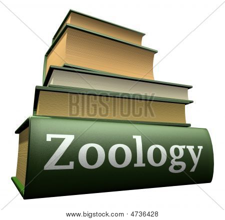 Education books - zoology