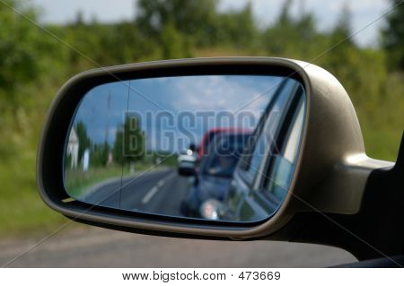 Espelho de carro