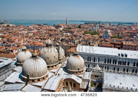 Venice Roof Tops over Piazza San Marco