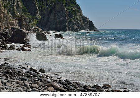Landscape On Sea