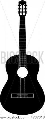 classical guitar symbol