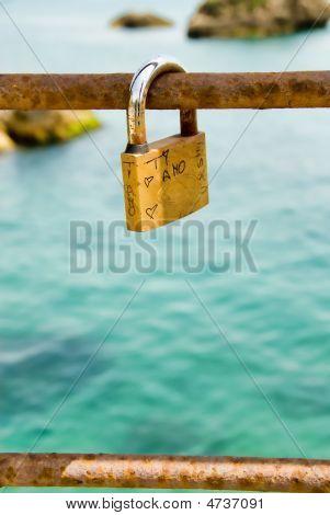 Love Lock In Italy