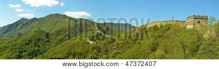 Panorama Of The Great Wall