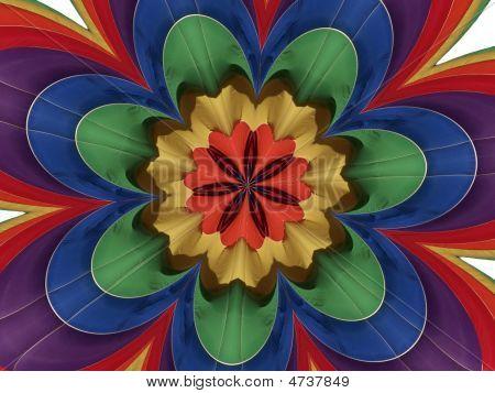 Nylon Multicolor Abstract