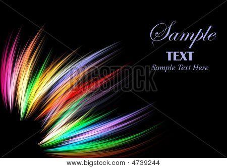 Vibrant Fiber Abstract