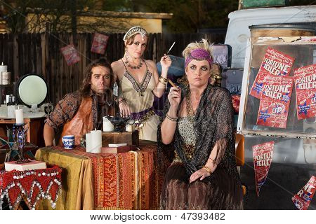 Serious Fortune Tellers