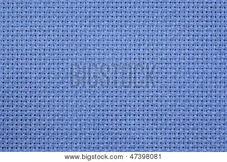 Blue Aida Cloth
