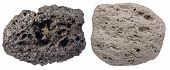 picture of pumice stone  - Highly vesicular volcanic rocks scoria  - JPG
