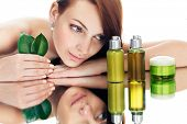 image of cosmetic products  - organic cosmetic - JPG