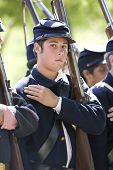 Hb Civil War Re-enactment - Union Soldier