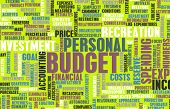 Personal Budget and Spending Finances as Concept