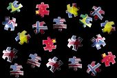 Flag Jigsaw Pieces