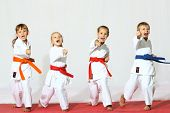 stock photo of karate  - Protection of self - JPG
