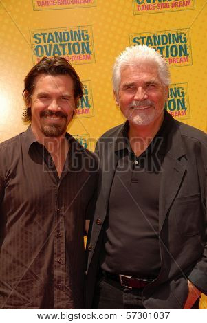 "Josh Brolin and James Brolin  at the ""Standing Ovation"" Los Angeles Premiere, Universal CityWalk AMC Theatres, Universal City, CA. 07-10-10"