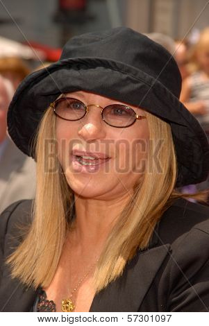 Barbra Streisand at the