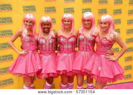 London Clark, Erika Corvette, Jeana Zettler, Devon Jordan, Ashley Cutrona at the
