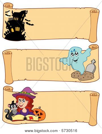 Halloween banners collection 3