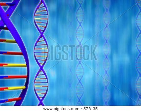DNA-Hintergrund