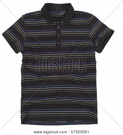 Polo Shirt Isolated On White