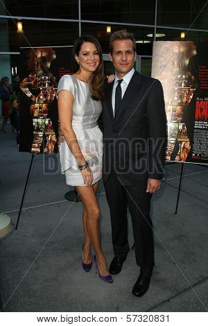 Jacinda Barrett and Gabriel Macht at the